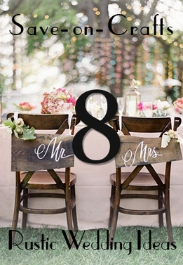 Top 8 Rustic Wedding Ideas