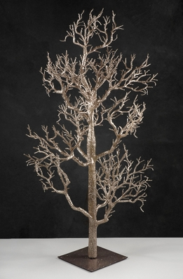 "Trees Rose Gold Potted 42"" Tree"