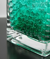 Turquoise Green Water Pearls (water holding vase gems)