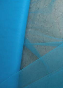"Turquoise Blue Tulle Bolt 54"" x 40 yards ("