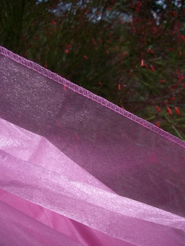 "Two Tone Organza Pink 54"" x 3 yds"