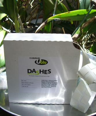 UGlu Dashes ( use to adhere diamond wrap to vases or candles & attach  fresh flowers to branches)