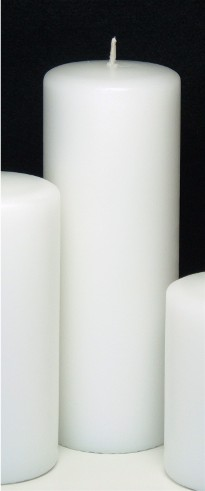 Unity Candle White 8in