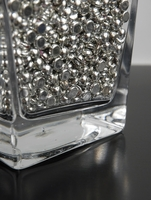 Vase Gems Silver Rain Drops (2 cups by volume)