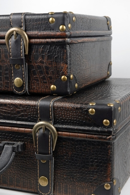 Vintage Suitcases | Set of 2