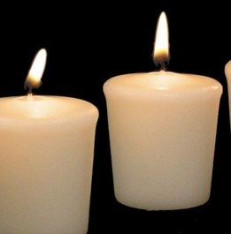 Votive Candles Unscented Ivory (9 candles)