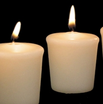 Votive Candles Ivory | Pack of 9