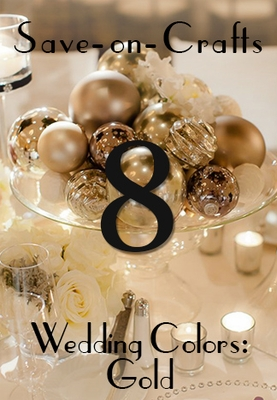 Wedding Colors: Glow with Gold