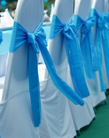 White Banquet Chair Covers