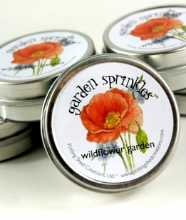 Wildflowers Seeds in a Magnetic Favor Tin