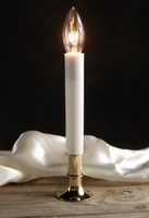 Brass Base Electric Window Candle