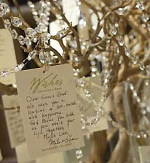 Wishing tree tags & placecards