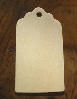 "Wood 3"" Hang Tags (25 tags)"
