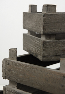 Wood Crates (Set of 3)