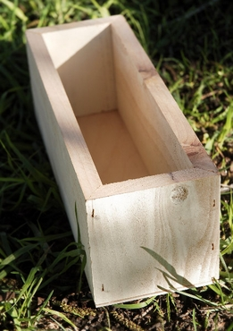 Wood Planter Box 12in