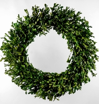 Boxwood Wreath 22in