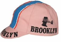 Brooklyn Cycling Cap Pink