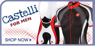Castelli Men's Cycling Clothing