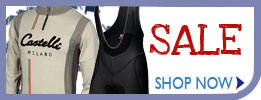 Castelli Sale Cycling Clothing