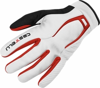 Castelli CW 4.0 WindStopper Cycling Glove White/Red
