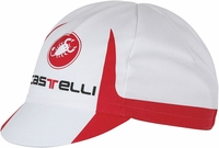 Castelli Free Cycling Cap White/Red