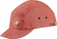 Castelli Newsboy Flex Fit Cap Red
