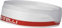 Castelli Summer Headband White/Red