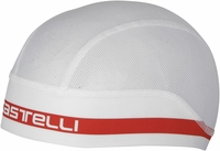 Castelli Summer Skullcap White/Red