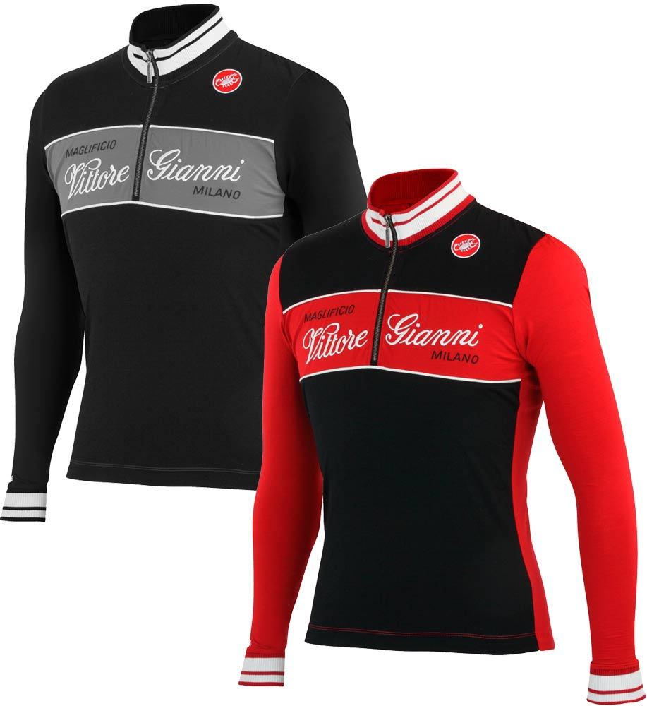 Castelli Vittore Gianni Wool Cycling Jersey