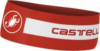 Castelli Viva Thermo Cycling Headband Red/White