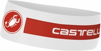 Castelli Viva Thermo Cycling Headband White/Red