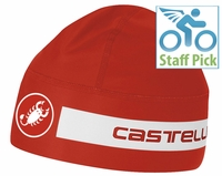 Castelli Viva Thermo Skully Red/White