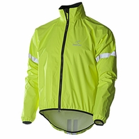 Showers Pass Storm Cycling Rain Jacket Neon Yellow