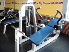 Ab Bench Machine by Precor