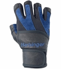 BioFlex WristWrap Workout Gloves by HArbinger