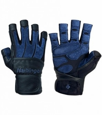 Bioform Wristwrap Weight Lifting Gloves By Harbinger 1310