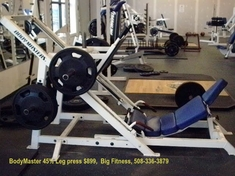 BodyMaster 45% Leg Press - Used