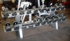 Dumbbell Set with Rack 5-25lb