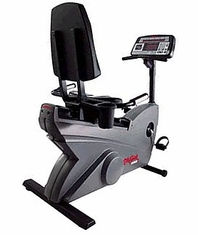 Exercise Bike / LifeCycle 9500HR Recumbent - Dove Tail (Remanufactured)