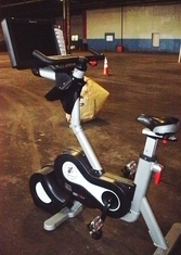 EXPRESSO FITNESS S3U UPRIGHT  BIKE (Serviced & Detailed)