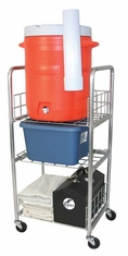 Gym Water Cooler Cart by Olympia