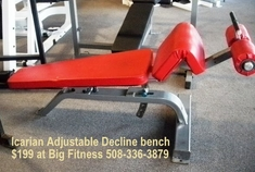 Icarian Adjustable Decline Bench