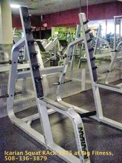 Icarian Squat Rack (used model 608)