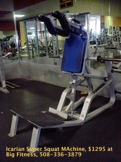 Icarian Super Squat Machine (used)