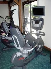 Lifecycle 95R Inspire Recumbent Bike w/TV Reconditioned