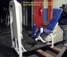 Nautilus Adductor & Adductor 2ST (2 machines)