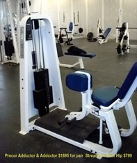 Precor Adductor & Adductor (2 Machines)