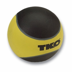 TKO 10 LB Rubberized Medicine Ball