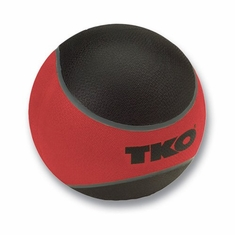 TKO 12 LB Rubberized Medicine Ball