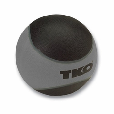 TKO 15 LB Rubberized Medicine Ball